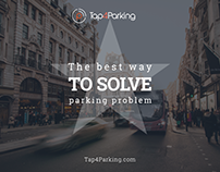 Tap4Parking presentation layout