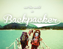 The Backpacker Club - Parallax Website