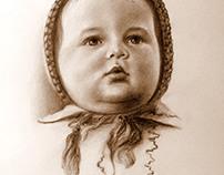 Little girl. Маленькая девочка.