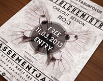 Mental Chemistry - Chillout music poster / flyer