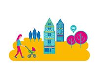 Illustration budget 2016, la ville de Lisieux - FLYER