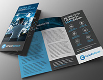 EcateGroup branding and brochures
