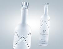 3D bottle of Danish vodka Nixon Bui