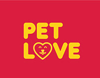 Identidade Visual Pet Love Gym