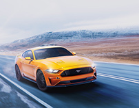 Ford Mustang V8 2017- Concept campaign