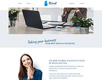 Blount Agency Website Design