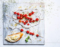 TEXTURES WITH FOOD -TWO
