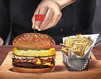 McDonalds - CYT Chicken Burger Storyboard