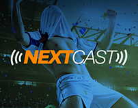 NextCast Podcast Concept Website