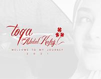 My Journey 2021 - Graphic designer CV