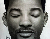 WILL SMITH - Realistic Drawing
