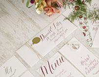 Pomegranate Wedding Stationery