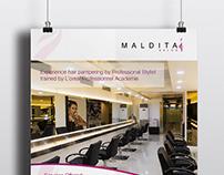 MALDITA Salon Promo Collaterals