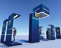 Topnet Stand exhibition