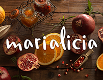 Branding  • Marialicia Chef & Foodstyling