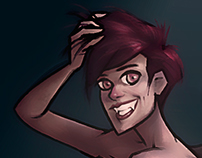 Pin-up Vampire