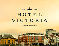 Hotel Victoria. Logo and sign system.