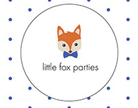 Little Fox Parties - Business Cards