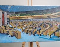 Paintings: de Tweede Kamer (House of Representatives)