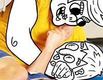 Torshus Folkehøyskole - Webpage Illustrations