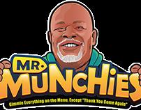 Mr.Munchies Logo + Character