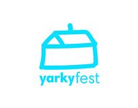 New logo for the festival Yarkyfest