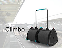 Staircase efficient luggage  - Making travelling easier