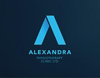 Alexandra Physiotherapy Logo Design