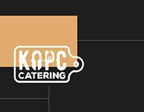 Разработка посадочной страницы для КОРС catering