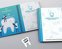 Dental Prescription Pad Book & Envelope