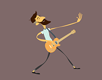 Hipster 2d Character Rig