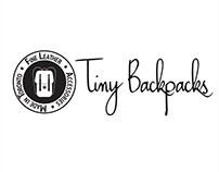 Retail branding redesign for Tiny Backpacks