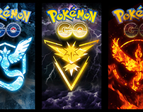 Pokémon Go Phone Wallpapers