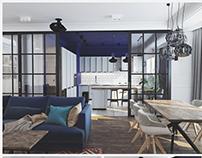 """Apartment """"Alise"""" (projekt) Kyiv 2015"""