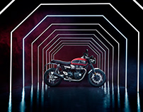 Triumph Speed Twin film & stills shoot