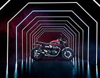 Triumph Speed Twin film & stills shoot