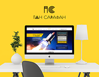 Landing page - Pan Sarafan