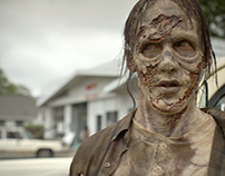 Hoosier Lottery - The Walking Dead Scratch-off Campaign