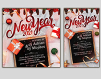 Free New Year Instagram Templates PSD