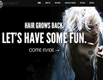 Website Design: 5th Element Hair Salon