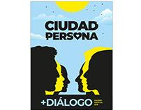Cartel para Madrid Gráfica 2018 - Ciudad Persona