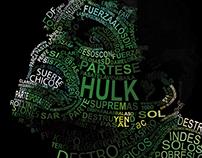 Tipograma de Hulk
