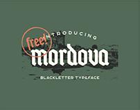 FREE Mordova Blackletter Font