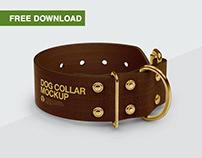 Free PSD-mockups | Linen Dog Collars
