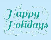 Happy Holidays Holiday Card