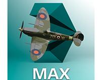Modélisation 3D - Spitfire
