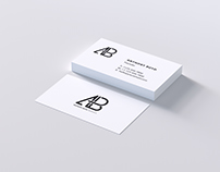 Modern Business Card PSD Mockup