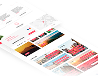Website for travel agency Tropicana