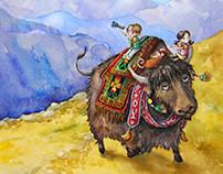 """E-book """"Mi&Mo in Nepal"""""""