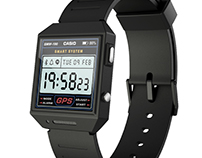 CASIO Smartwatch Concept • Wearable